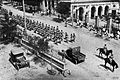 The 4th Gurkha Rifles take part in a parade of horse-drawn guns in a British demonstration of force in Baku, July 1919-b.jpg
