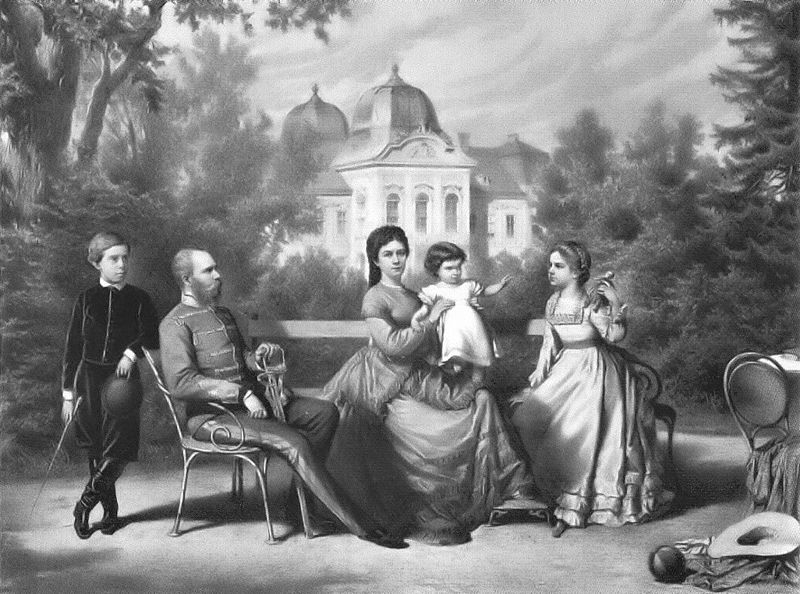 File:The Austrian Imperial family in Göddollo.jpg