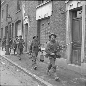 Coldstream Guards - World War II – 5th Coldstream enter Arras, 1 September 1944