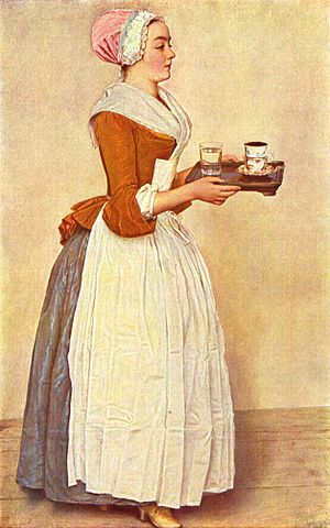 Francesco Algarotti - Image: The Chocolate Girl by Jean Étienne Liotard