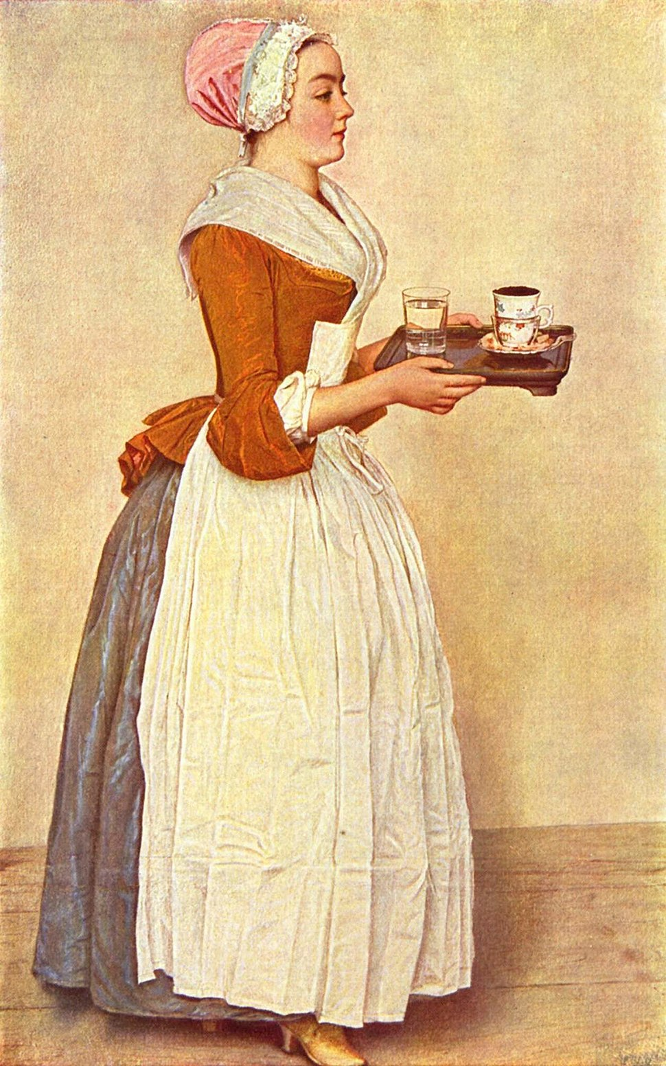 The Chocolate Girl by Jean-Étienne Liotard