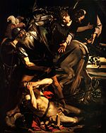 The Conversion of Saint Paul-Caravaggio (c. 1600-1).jpg