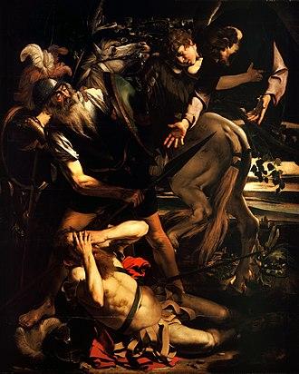 The Conversion of Saint Paul (Caravaggio) - Image: The Conversion of Saint Paul Caravaggio (c. 1600 1)