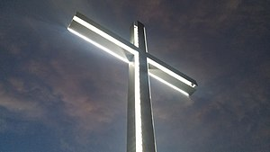 The Cross at Blagoevgrad's Top Hill. .jpg