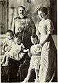 The Emperor and Empress, their daughter and the three elder sons of the Crown Prince.jpg