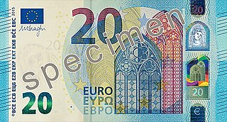 20 euro note