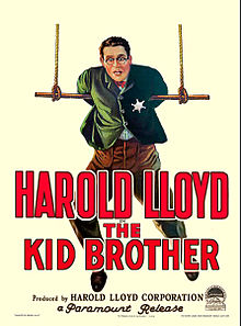 Description de l'image The Kid Brother poster.jpg.