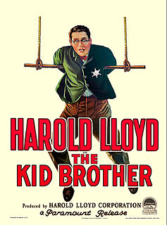 <i>The Kid Brother</i> 1927 silent comedy film