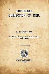 The Legal Subjection of Men title page.jpg