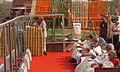 The President, Dr. A.P.J. Abdul Kalam addressing at the National Celebration to Commemorate 150th Anniversary of the First War of Independence, 1857 at Red Fort, in Delhi on May 11, 2007.jpg