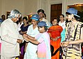 The President Dr.APJ Abdul Kalam received Raksha Bandhan greetings from Children at Rashtrapati Bhavan on August 30, 2004.jpg