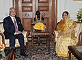 The Prime Minister of Malaysia, Dato' Sri Mohd Najib Tun Abdul Razak meeting the President, Smt. Pratibha Devisingh Patil, in New Delhi on January 20, 2010 (1).jpg