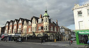 White City, London - The Queen of Adelaide pub, a Grade II listed building in White City