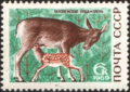 The Soviet Union 1969 CPA 3795 stamp (Red Deer).png