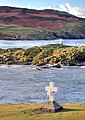 The Thousla Cross, Kitterland, Thousla Rock and the Calf - geograph.org.uk - 639890.jpg
