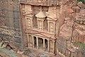 The Treasury from above, Petra, Jordan (34247879312).jpg