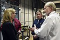 The USA's Secretary of the Air Force visits Cheyenne Mountain, 2015-05-27, 150527-F-VT441-014 (18198477645).jpg