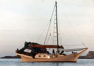 traditional double-ended Malay ship