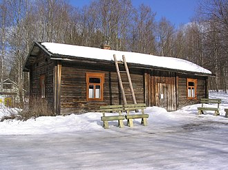 Urho Kekkonen - Kekkonen was born in a humble, small log cabin called Lepikon Torppa in Pielavesi.
