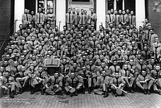 """The class the stars fell on - Members of the West Point Class of 1915 which was known as """"The class the stars fell on""""."""