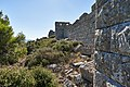 The fortification wall of the fortress of Eleutherae on August 30, 2020.jpg