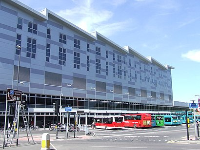 How to get to Derby Bus Station with public transport- About the place