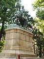 The statue of the prince Kitashirakawa - panoramio.jpg
