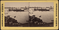 The winning boat passing the judge's boat, July 4, 1860, from Robert N. Dennis collection of stereoscopic views.png