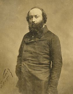 Théodore Rousseau French painter (1812-1867)
