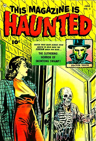 Sheldon Moldoff - Image: This Magazine Is Haunted 5 Fawcett