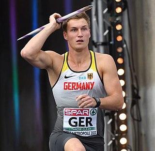 Thomas Röhler German javelin thrower