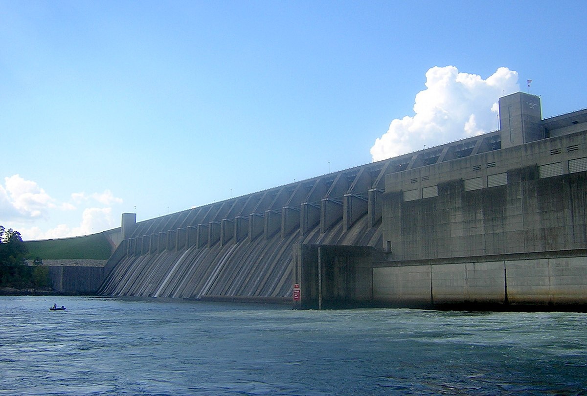 J strom thurmond dam wikidata for Fishing in augusta ga