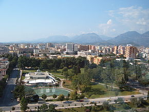 Tirana Downtown from sky tower(66).JPG