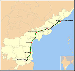 Tirumala Express Route map.jpg