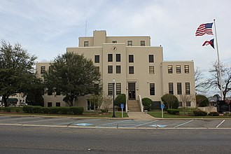 Mount Pleasant, Texas - The Titus County Courthouse in Mount Pleasant