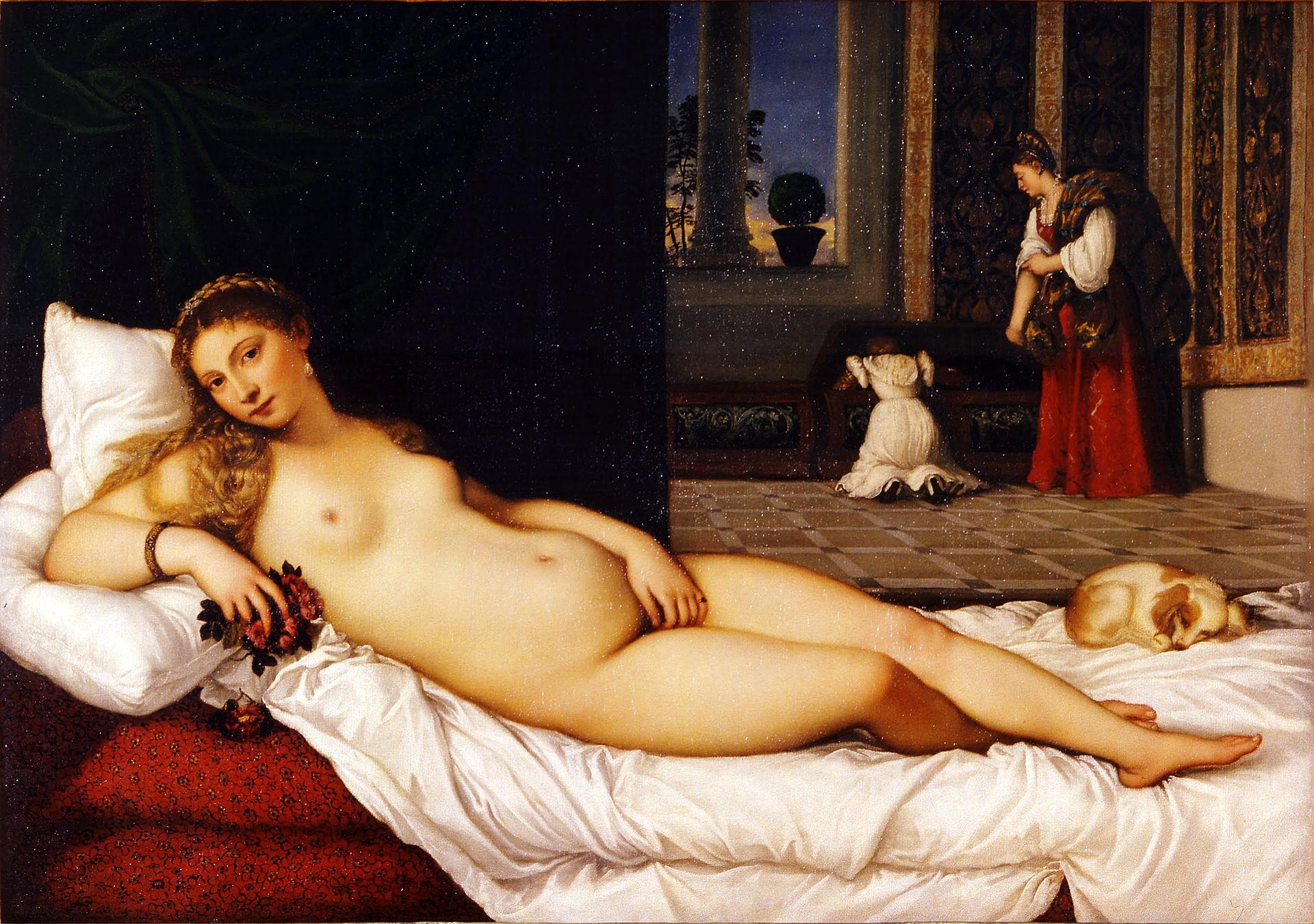 La Venus de Urbino es la obra más erótica de Tiziano