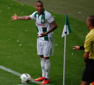 Tjaronn Chery - Chery playing with FC Groningen in 2014