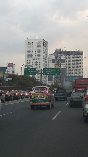 Jakarta Outer Ring Road - Jakarta Outer Ring Road in Pd. Indah.