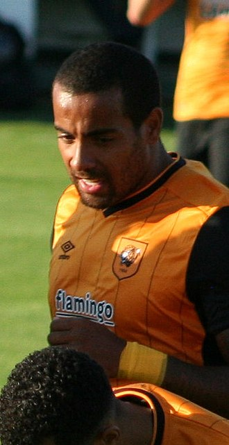 Tom Huddlestone - Huddlestone playing for Hull City in 2015