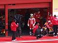 Toni Elías at the Fortuna Honda garage 2006 Mugello.jpg