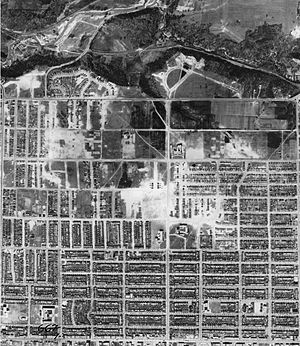 Old East York - Aerial Photograph of East York, 1942