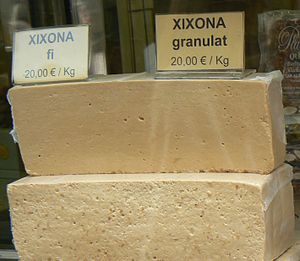 Jijona/Xixona - Fine and grainy turrón