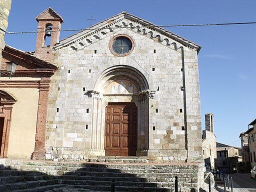 Montefollonico, San Leonardo