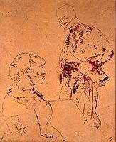 Toulouse-Lautrec - ARTILLEUR ET FEMME, 1886, MTL.116.jpg