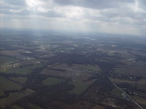 Fayetteville, Ohio - Image: Towards Fayetteville, Ohio from the north