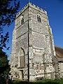 Tower, St Mary and St Bartholomew, Cranborne - geograph.org.uk - 695480.jpg