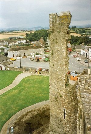 Ferns, County Wexford - View of Ferns from Castle tower