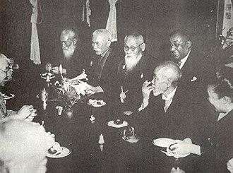 Anglo-Japanese Alliance - Toyama Mitsuru honours Rash Behari Bose