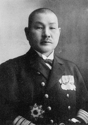 Soemu Toyoda - Japanese Admiral Soemu Toyoda