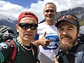 Trailrunners Lukasz Zdanowski and Dmitry Erokhin and Robert Celinski.jpg